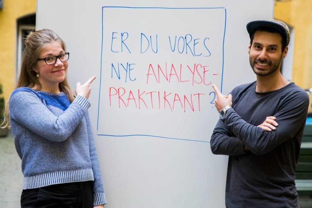 BlivMino Danmarks nyeanalysepraktikant