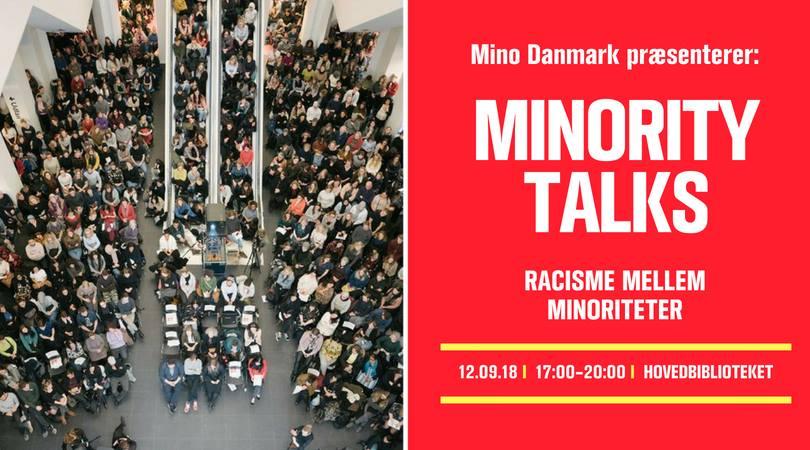 12. september // Minority Talks: Racisme mellem minoriteter