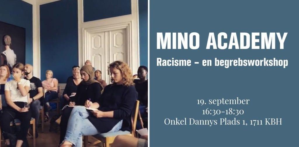 19. september // Mino Academy – om racisme
