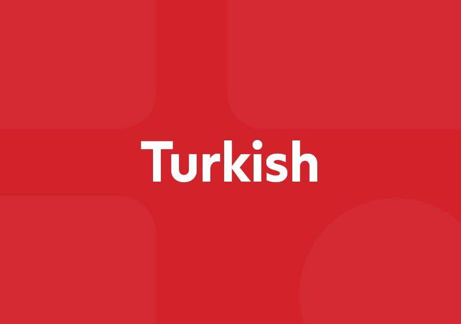 COVID-19 Türkçe