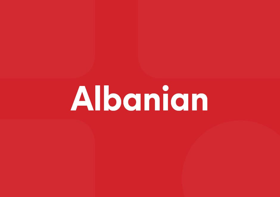 COVID-19 në gjuhë shqipe