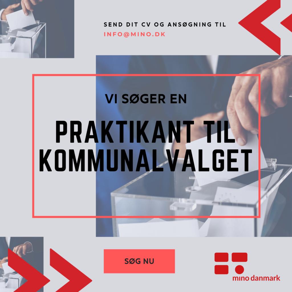 Praktikant til Mino Danmarks kommunalvalgsindsats