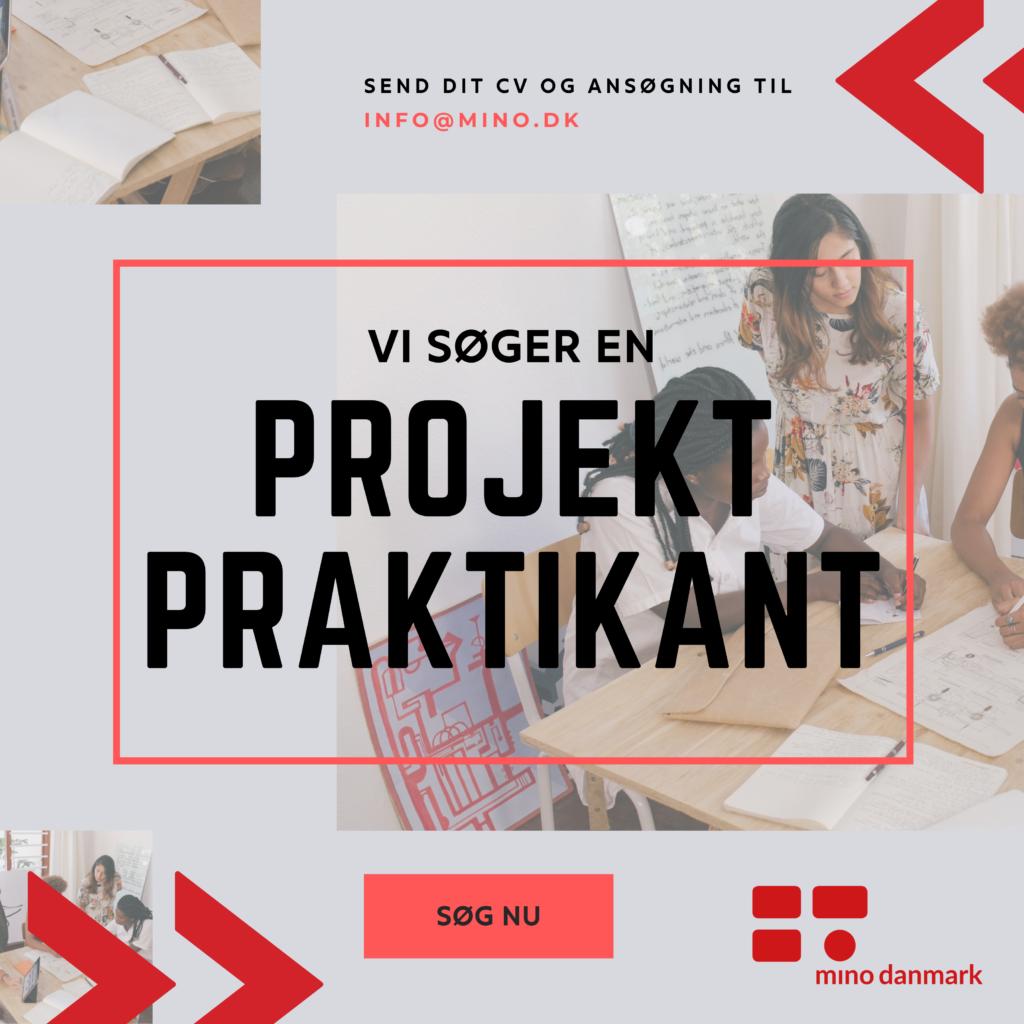 Bliv projekt praktikant i Mino Danmark